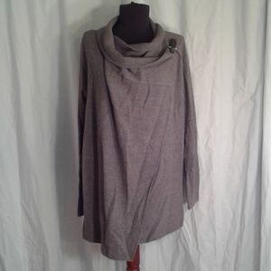 Tahari L Wrap Cardigan Sweater